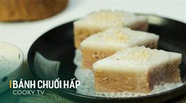 Cách làm Bánh chuối hấp nước cốt dừa
