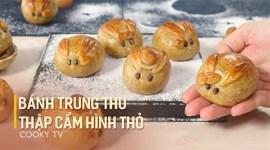 Cách làm Bánh trung thu nhân thập cẩm hình thỏ