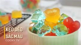 Cách làm Kẹo dẻo sắc màu