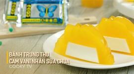 Cách làm bánh trung thu cam vani nhân sữa chua