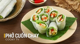 Phở cuốn chay