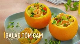 Salad tôm cam