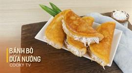 Bánh Bò Dừa Nướng Bằng Chảo
