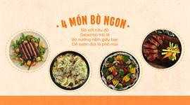 Cách Làm 4 Món Bò Ngon Ngất Ngây Chuẩn Bữa Tiệc Hoành Tráng