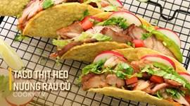 Bánh Tacos Nướng Rau Củ