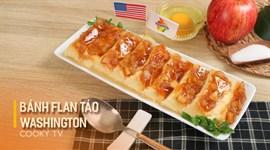 Bánh Flan Táo Washington