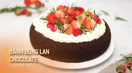 Bánh Bông Lan Chocolate