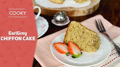 Cách làm Bánh bông lan trà sữa Earl grey - Earl grey chiffon cake