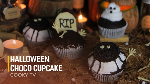Halloween Choco Cupcake