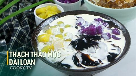 Cách làm Thạch thảo mộc Đài Loan