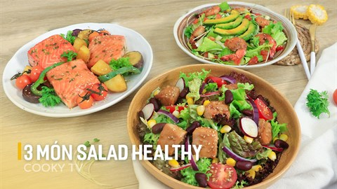 3 món salad kiểu Nhật