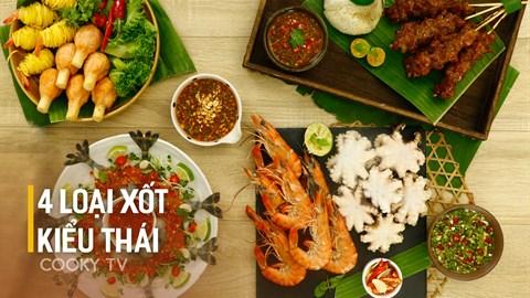 4 loại xốt kiểu Thái