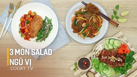 3 món salad ngũ vị