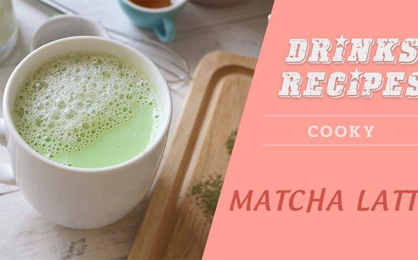Cách pha Matcha latte